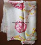 Macchina che cuce la sciarpa di seta della stampa di Digitahi fatta del tessuto di seta del raso di 16mm Charmeuse
