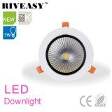 Ce&RoHS LED 스포트라이트를 가진 3W 알루미늄 LED Downlight