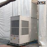 Fußboden, der Aircon 29ton zentrale Klimaanlage für Ereignis-Zelte steht