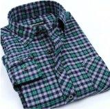Camice di cotone lunghe del vestito dal manicotto delle camice casuali degli uomini dell'OEM 2017