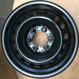 Черная оправа 17X7.5 колеса стального автомобиля зимы