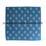 男女兼用の高品質の安い綿のペーズリーのロゴの印刷の正方形のバンダナ