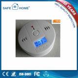 Batteriebetriebene LCD-Bildschirmanzeige-Qualitäts-Selbstkohlenmonoxid-Detektor (SFL-508)