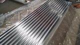 Folha ondulada galvanizada relativa à promoção da telhadura do zinco do MERGULHO quente de África (665mm, 800mm, 900mm)