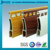 Perfil de alumínio da extrusão para cores personalizadas porta do obturador do rolo