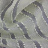 Светлая Striped покрашенная тонкая ткань способа полиэфира