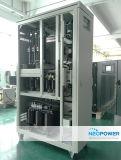 500kVA 3pの電子機械ローラーの技術のOrtea標準デジタルの電圧安定装置