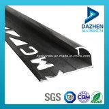 Profil en aluminium populaire de matériau de construction de décoration pour la garniture de tuile