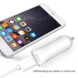 chargeur rapide universel de véhicule sorti par 2.1A avec la protection d'IC pour l'iPhone Samsung et les tablettes