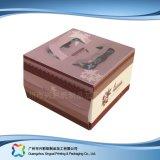 Het leuke Verpakkende Vakje van het Document van het Karton voor de Cake van het Voedsel (xc-fbk-030)