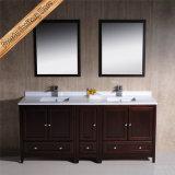 連邦機関1069cの高品質の純木の浴室用キャビネットの虚栄心