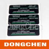 Bestand Elektronisch Etiket op hoge temperatuur (gelijkstroom-LAB014)