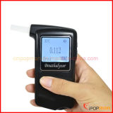 Tester dell'alcool del sensore della pila a combustibile del tester dell'alcool della polizia del tester dell'alcool dell'alito dell'affissione a cristalli liquidi