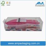 Boîte rigide transparente personnalisée Shenzhen New Cheap Small Plastic Case PVC Tube