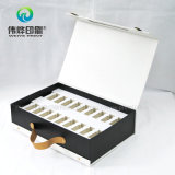 Elegante rígida Impresión de papel de embalaje caja de regalo Uso de Productos para el Cuidado de la Salud
