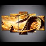 HD imprimió la lona Mc-032 del cuadro del cartel de la impresión de la decoración del taller de impresión de la lona de pintura de la bola del dragón de la historieta