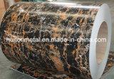 대리석 패턴은 건축재료를 위한 강철 코일을 Prepainted