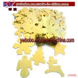 Ornamento plástico del claro de la decoración de la chuchería del rectángulo del caramelo de Fillable de la Navidad (CH8101)