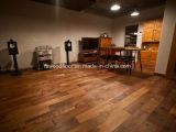 Pavimentazione americana lubrificata naturale del legno duro della noce nera