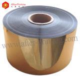Oro metalizado 24micron (12MPET+12EVA) de la película de la laminación