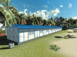 Escritório pré-fabricado pré-fabricado de site de instalação rápida para a África