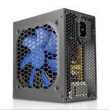 электропитание 300W с электропитанием переключения цвета охлаждающего вентилятора 12cm голубым
