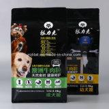Custmized 애완 동물 공급 /Cat 음식 개밥을%s 플라스틱 쿼드 물개 패킹 부대
