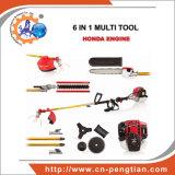 4 herramientas de jardín del cortador de cepillo de la gasolina del movimiento Bc350 Gx35