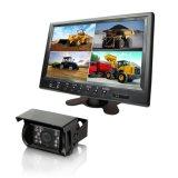 Systeem van de Monitor van de Mening van de vierling het Achter met Op zwaar werk berekende Camera