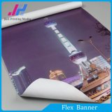 (9.5oz) PVC 320GSM Frontlit/bandeira Backlit do cabo flexível