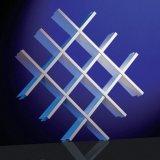 Потолок алюминиевой ложной решетки открытый для нутряная декоративной