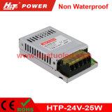 24V-25W alimentazione elettrica non impermeabile costante di tensione LED