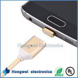 Câble de remplissage magnétique micro de chargeur d'adaptateur de câble usb pour le téléphone androïde