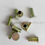 Remaches semi tubulares del acero de la alta calidad L10 para el uso de la guarnición de freno