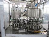 Botella automática llena de PE/PP/HDPE que aclara el relleno de la máquina del lacre del papel de aluminio