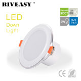 5W 2.5 pulgada 3CCT LED Downlight con la iluminación integrada del programa piloto LED
