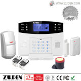 Het geuite LCD Draadloze GSM Systeem van de Alarminstallatie