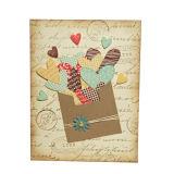 Поздравительная открытка подарка офсетной печати полного цвета