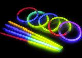 BI-Colores de las pulseras del resplandor de la decoración del día de fiesta (SZT5200-2)