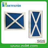 Складывая главным образом воздушный фильтр с рамкой картона