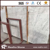 Carrara 백색 대리석 석판 및 도와