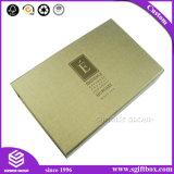 Rectángulo de regalo de papel de lujo de la cartulina de Debossing para el empaquetado cosmético
