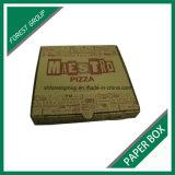 Da caixa ondulada da pizza de Brown de 12 polegadas venda quente com impressão feita sob encomenda