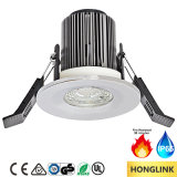 Пожар Rated Downlight СИД RoHS 6W IP65 Dimmable BS476 Ce
