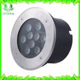 10W에 의하여 매장되는 빛 AC 24V LED 지면 빛 RGB LED 지하 빛