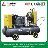 Compresseur d'air bon marché de vis de Kaishan LGJY-7.6/6 50HP avec le réservoir