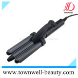 3 em 1 Fast Hair Curling Iron with Stand e Tourmaline Ceramic Coating