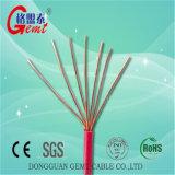 La alta calidad trenzó el alambre Bvr aislado PVC del cable eléctrico de Thw del cable de cobre de Thw de los conductores