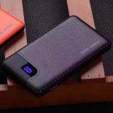 Matériau ABS PU Texture Mini Portable Travel Power Bank pour iPhone Dispositifs Android