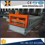Blad 800 van het Aluminium van Kxd de Plaat die van het Dakwerk Corrguated Machine maken